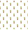 decorative tree in flowerpot pattern vector image