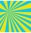 Colored light yellow blue background vector image