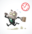 businessman rush hour vector image