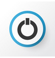start icon symbol premium quality isolated power vector image