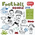 Soccer icon set on vector image