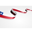 Chilean flag background vector image vector image