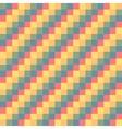 Pixel modern geometric seamless pattern ornament vector image