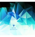 polygonal design Abstract geometrical background vector image