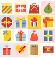 Presents box vector image
