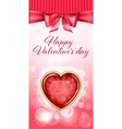 Valentine day backgroung vector image
