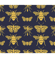 Hipster seamless pattern with Insects Abstract vector image