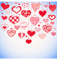 Lovely decorative background vector image