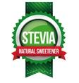 Stevia - Natural Sweetener ribbon vector image