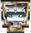 Fancy Yen symbol vector image