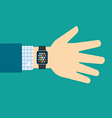 Smart watch vector image