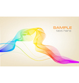 colorful background with ranbow vector image vector image