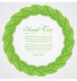 laurel wreath sign vector image
