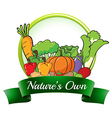 A natures own label vector image