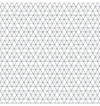 monochrome triangle hexagon seamless pattern vector image