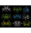 decorative ornaments for design vector image