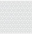 monochrome triangle hexagon seamless pattern vector image