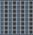 seamless tartan pattern blue and grey kilt fabric vector image