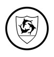 symbol of anguilla - iconic design vector image