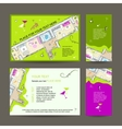 New dwelling party Invitation desing with place vector image vector image