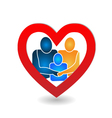 Family union logo vector image