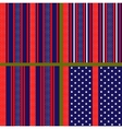 usa flag stylized pattern vector image