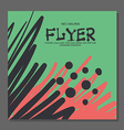 Abstract flyer with space for text It can be used vector image