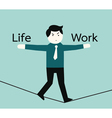 lifeandwork vector image
