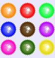 loader Icon sign Big set of colorful diverse vector image