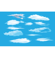 collection of sky vector image