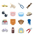 Taxi cleaning animals and other web icon in vector image