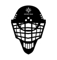 hockey helmet icon vector image