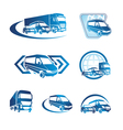 Transport sign graphics vector image