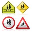 School signs vector image