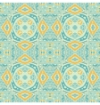seamless ethnic geometric pattern vector image