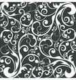 floral wallpaper design vector image