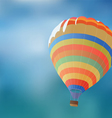Balloon on a background blue sky vector image
