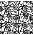 Abstract seamless needlecraft pattern vector image