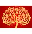 Bodhi tree vector image