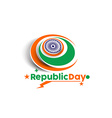 Indian Republic day vector image