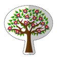 tree plant ecology symbol vector image