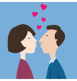 lovecouple vector image vector image