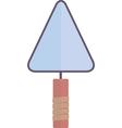 building trowel vector image