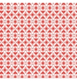 Abstract pattern heart vector image