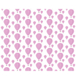 Baloons pattern vector image
