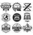 set of school badges for new season sales vector image