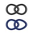 chain links set vector image