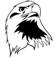 stylized image of an eagle vector image