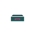 Drawer Icon vector image