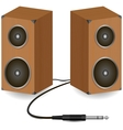 Stereo speakers vector image